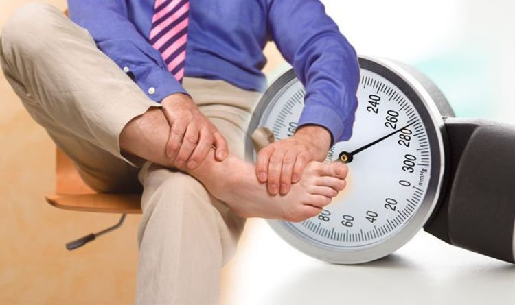 High blood pressure: Noticing this sudden change in your ankles is a warning sign