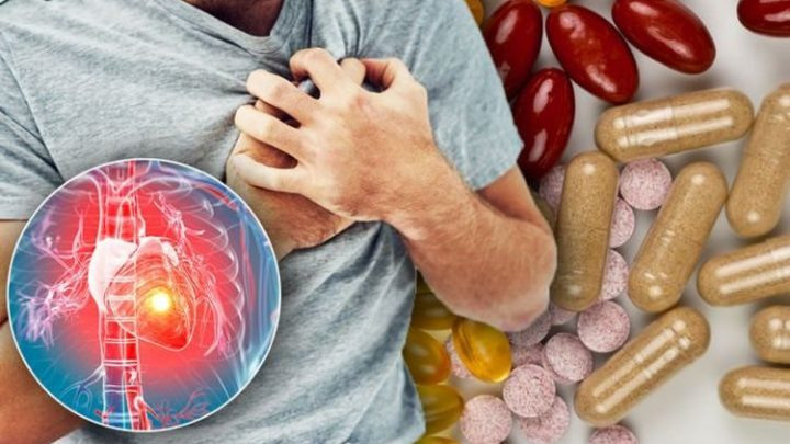 Best supplements for the heart – the 3p a day capsules to lower your risk of heart attacks