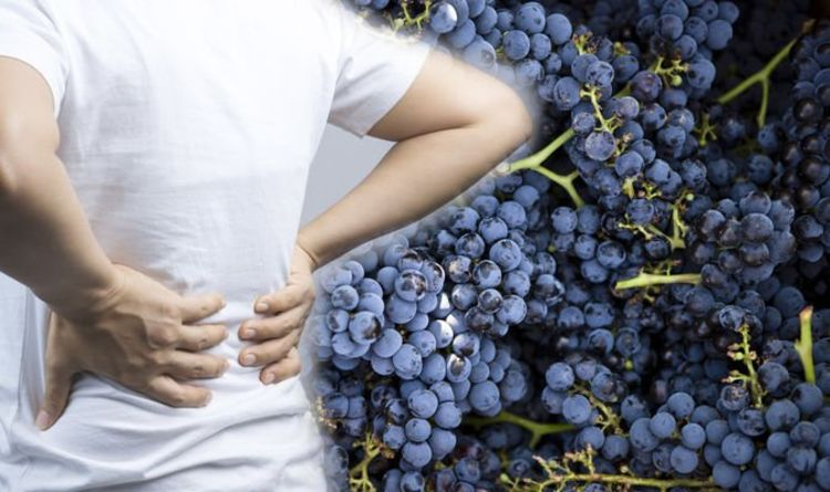 Back pain: Grapes contain an anti-inflammatory which helps to reduce pain