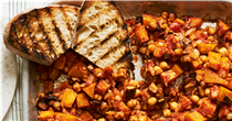 Swap beans on toast for an even speedier one-pan roast on busy days