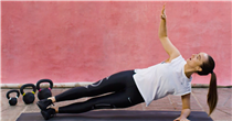 Move of the week: side plank rotations – the move for stronger obliques
